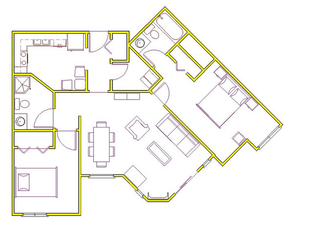 2d House Plans Flickr Photo Sharing