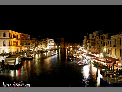Night view of vanice from rialto bridge, Part-3(at night)