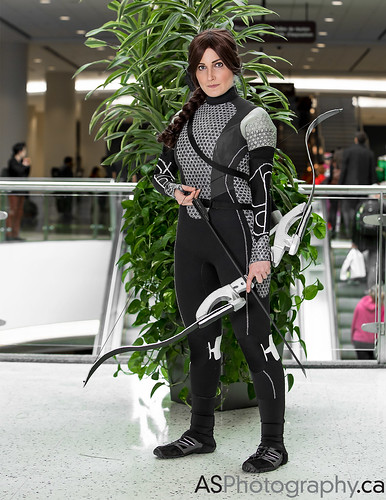 Katniss Everdeen from The Hunger games by Ali at March Toronto Comic Con 2014 by andreas_schneider