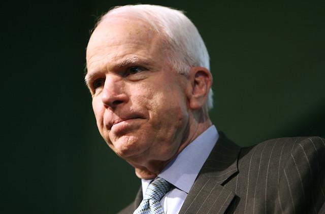 John McCain in Exeter