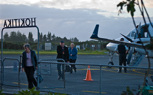 Hokitika arrival, 14 May 2008