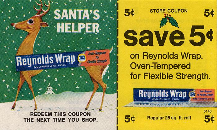 Reynolds Wrap coupon - 1971