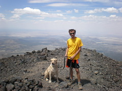 Dog 'n' I at the Summit.