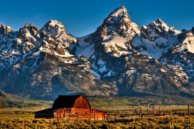 John Moulton Barn Grand Teton National Park Flickr