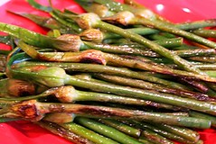 Garlic Spears (cooked) 1