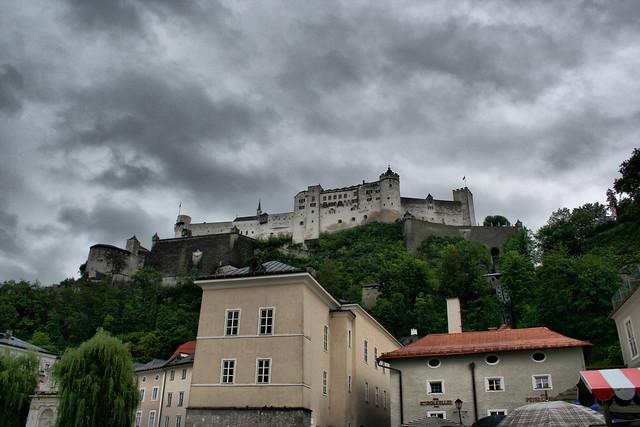 Salzburg, HDR Hohensalzburg