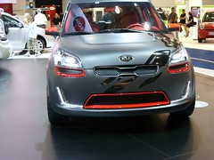 automobile, automotive exterior, vehicle, automotive design, auto show, city car, compact car, bumper, concept car, land vehicle, kia motors,