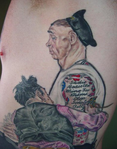 Norman rockwell tattoo painting 2015 personal blog for Tattoo shops in norman