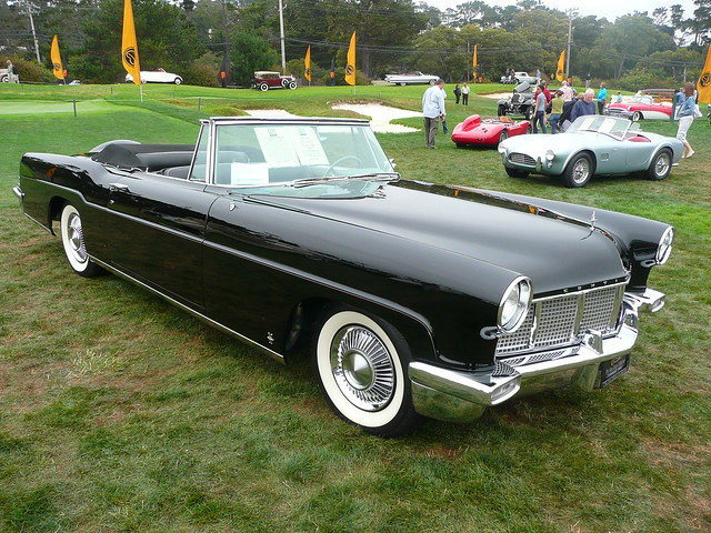 1956 lincoln continental convertible flickr photo sharing. Black Bedroom Furniture Sets. Home Design Ideas