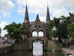 Main gate of Sneek (Friesland Netherlands)