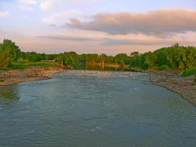 River Dam-2 in GF, ND