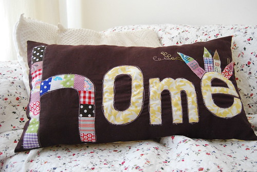 cushion 'home'