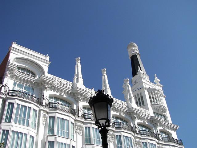 Madrid Hotel Reina Victoria Art Deco Flickr Photo