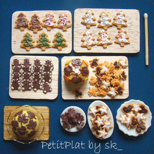 Miniature Food Christmas Cookies Portland dentists