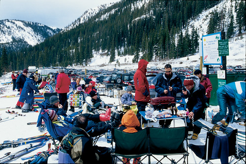 Arapahoe Basin CO Group for lunch