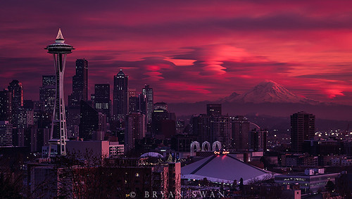 Evening Apocalypse - Seattle, WA