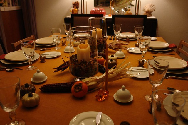 Thanksgiving 2008 Table