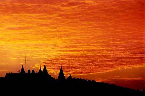 sky cloud sunrise hungary zenit pécs palar