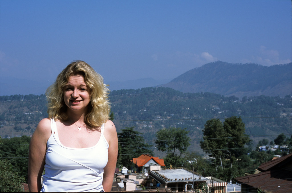 Angela at Almora Hill Station, India