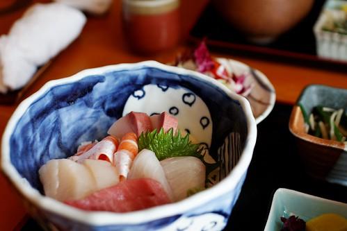 五色魚生飯