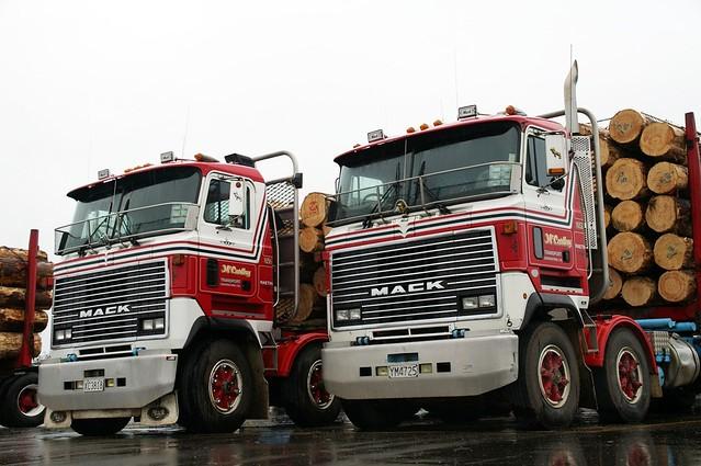 Mack COE Logging Truck (x2)