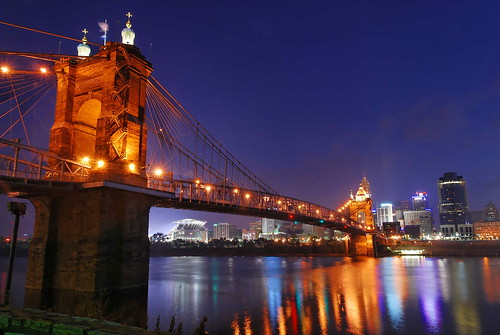 morning blue usa night nikon long exposure shot cincinnati hour oh soe froman d80 digitalartistry