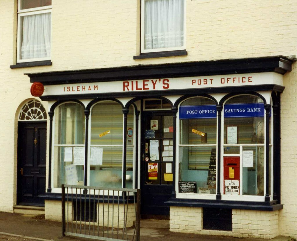 Isleham Post Office 1988