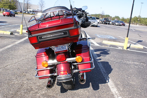 Harley Davidson rear
