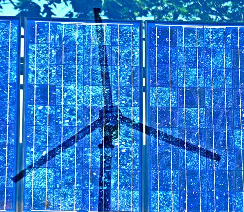 solar panel wind turbine