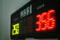 signage(0.0), digital clock(0.0), clock(0.0), neon sign(0.0), flat panel display(0.0), red(1.0), number(1.0), scoreboard(1.0), electronic signage(1.0), light(1.0), led display(1.0), display device(1.0), lighting(1.0),