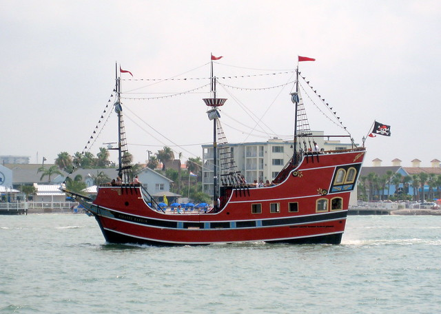 Pirate Ship Clearwater Beach Fl