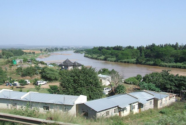 The Lusutfu River near Big Bend, Swaziland