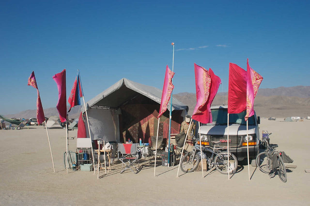 Our camp, Burning Man 2007