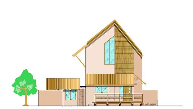 Contoh Gambar Rumah Contoh Gambar Desain Rumah Etnik Kayu | Flickr ...