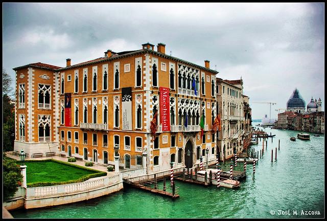 Venecia (Italia). Palacio Cavalli-Franchetti.