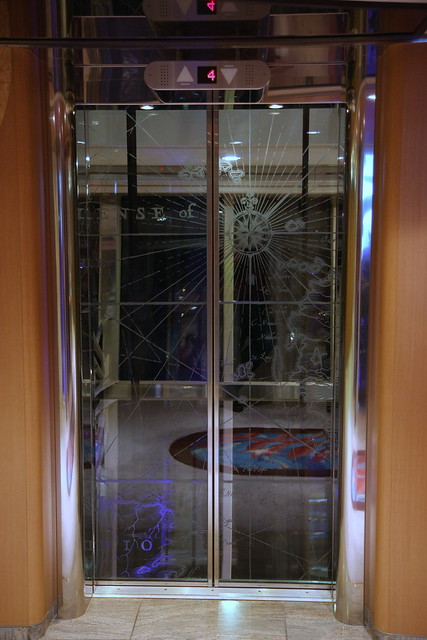 Glass Elevator Doors : Etching on the glass elevator doors flickr photo sharing