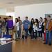 Vie, 06/06/2008 - 12:42 - Grupo de finalistas del Premio Galicia Innovación Junior 2008 con sus compañeros, profesores y familiares, durante la visita guiada por el Centro de Empresas e Innovación de Tecnópole, donde fueron recibidos por los emprendedores de Formato Verde e Innova Auria. 6/6/2008