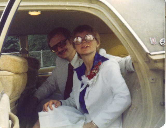 mom and dad's wedding day