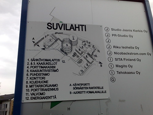 Map of Suvilahti