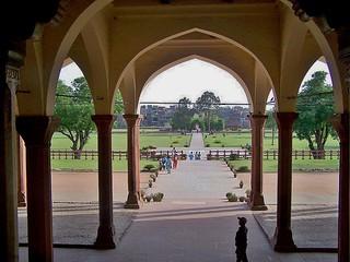 Diwan-e-Aam, Shahi Qila, Lahore, Pakistan - April 2008