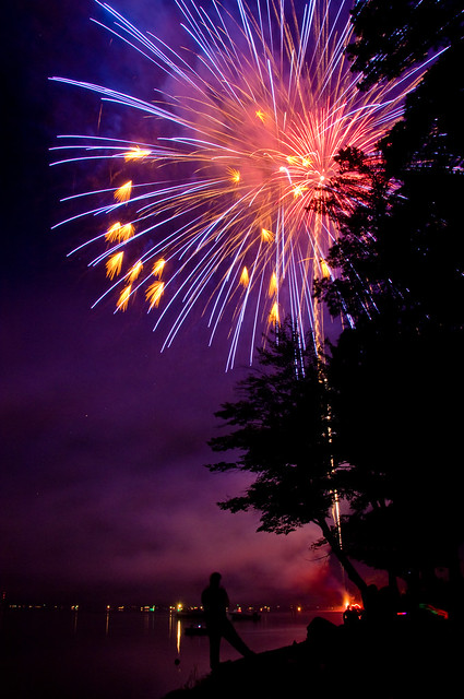 Best Sports Watch >> Fireworks at Otsego Lake | Flickr - Photo Sharing!