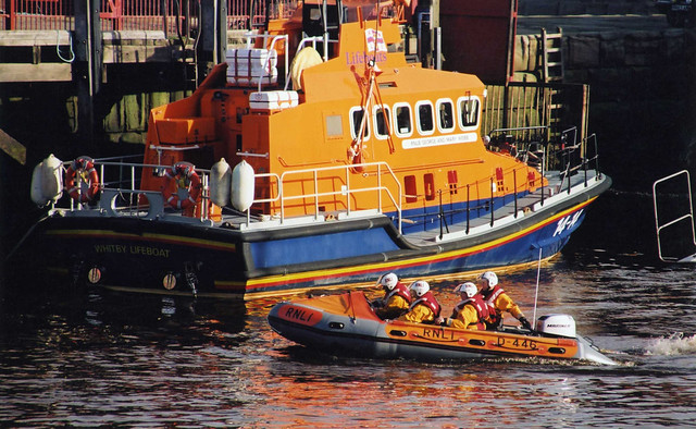 RNLI Whitby Lifeboats, Whitby Harbour, North Yorkshire