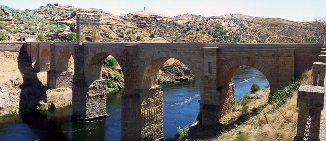 panoramica puente alcantara