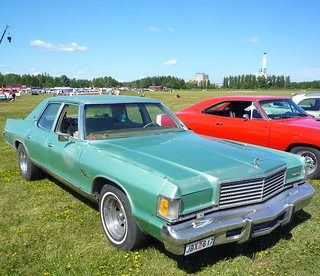 1976 Green Dodge Royal Monaco Brougham