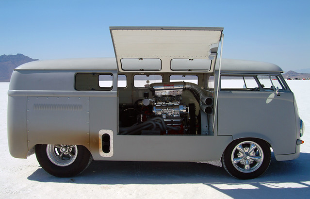 BIG BLOCK VW CAMPER