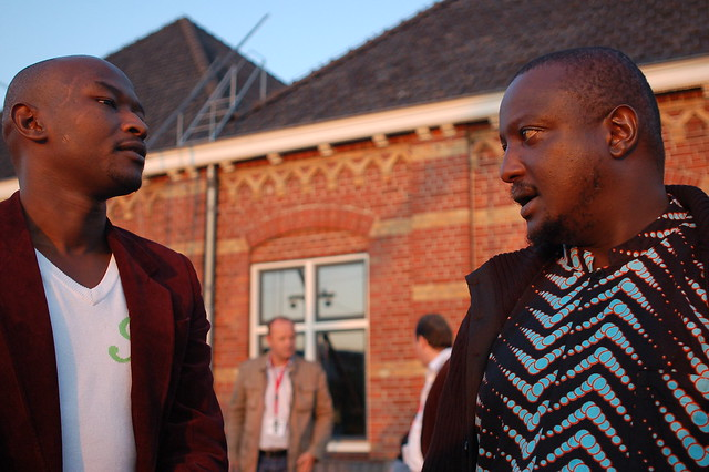 Mark Kamau and Binyavanga Wainaina