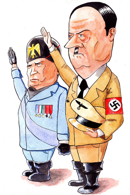 compare and contrast internal policies mussolini and stalin