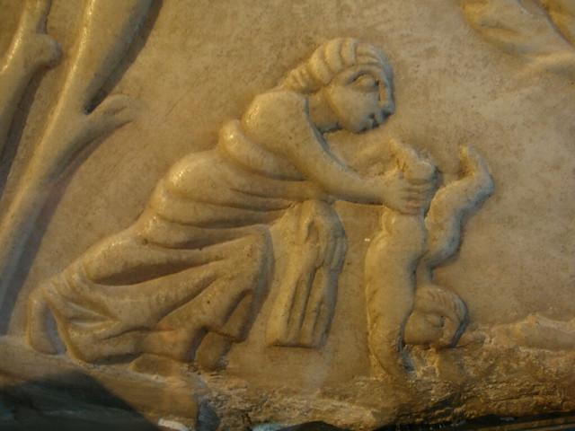 Tetis Banyant Aquil Les A L 39 Est Gia Thetis Baths Her Son