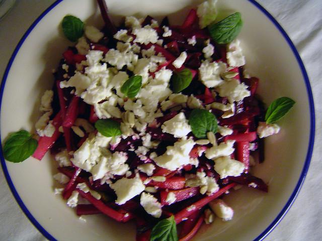 rote beete birnen salat mit feta und minze by mightymightymatze flickr photo sharing. Black Bedroom Furniture Sets. Home Design Ideas