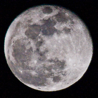 Big moon at 800mm.